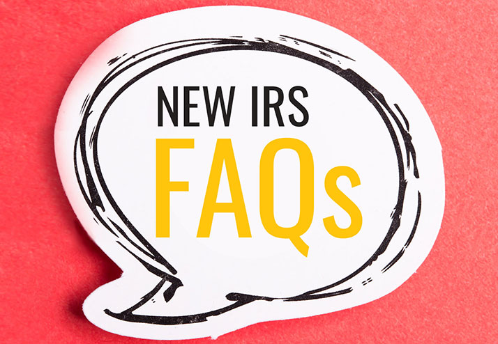 New IRS FAQs: 2020 Employment Tax Deposits/ Payments Deferral
