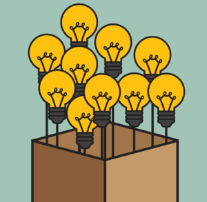 Light bulbs in a box